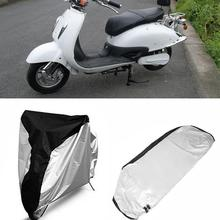 Vehemo Waterproof Motorcycle Cover S M L XL Motorbike Scooter Outdoor  Rain Dust Protective Cover Case Universal
