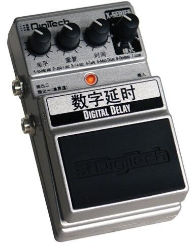 DigiTech DigiDelay Digital Delay Pedal digitech чехол gb200