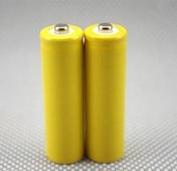 Il trasporto libero 2 pz/lotto 3.2 v 14500 LiFePo4 li-ione di litio fittizi falsi celle fittizie batteria per la batteria LiFePo4 setup