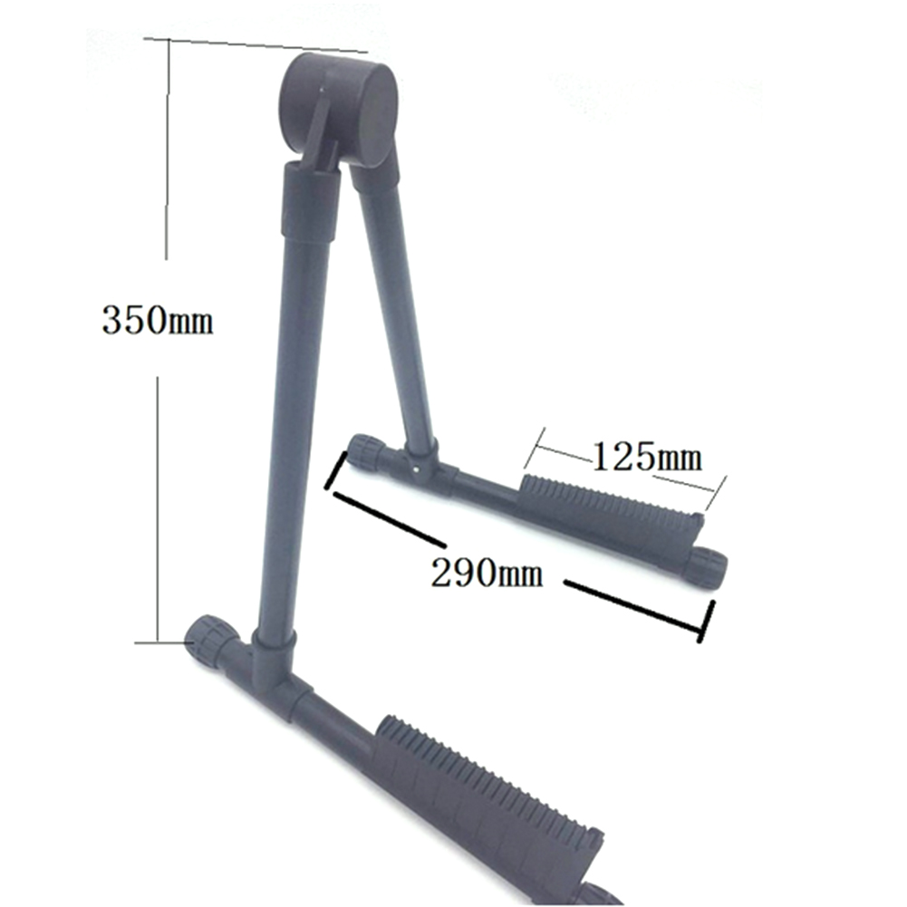 NEW Guitar Stand Portable A-frame Guitar Stand Holder Bracket Mount Foldable for Acoustic Classical Electric Guitar Ukulele Bass new classical acoustic guitar amplifier soundhole pickup 6 3mm jack 5m cable fit for acoustic and classical guitars hot sale