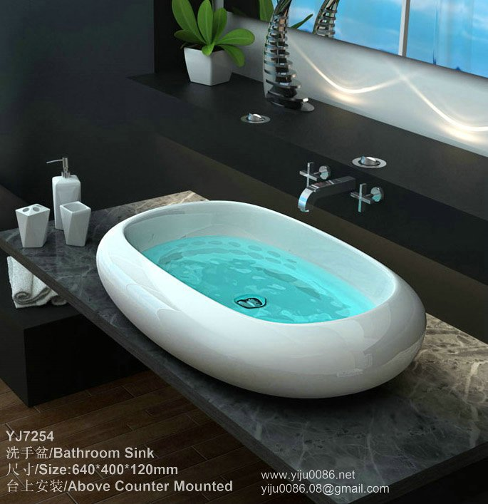 Bathroom sink bathroom design ideas in bathroom sinks from for Bathroom sink ideas pictures