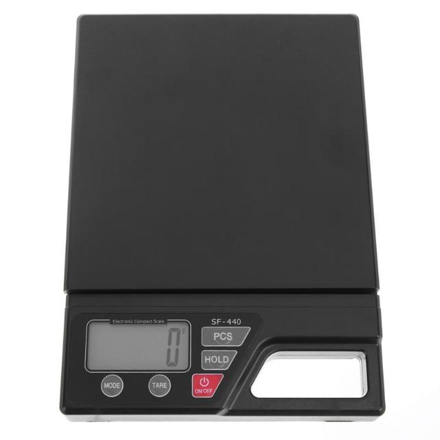 10kg 1g Digital Kitchen Scale Lcd Large Screen Display Electronic Scales High Precision Food T