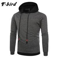 T Bird Sweatshirts Men Fashion Hoodies Hip Hop 2017 Brand Mens Stitching Hoodie Winter Sportswear Male