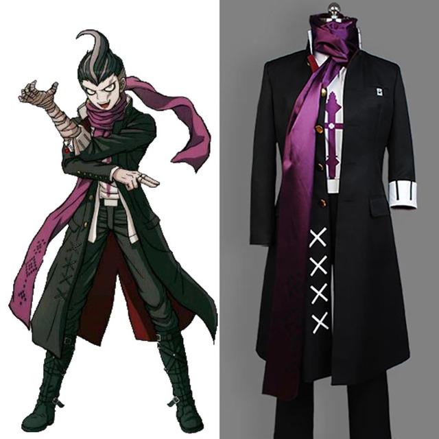 Anime Super Danganronpa 2 Cosplay Gundam Tanaka Costume Adult Men Women Full Set Halloween Carnival
