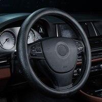 car steering wheel cover genuine leather accessories for bmw 3 gt 318i 320i f30 4series e30 m3 e34 e36 e39