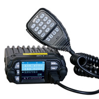 QYT KT 8900D 25W Vehicle Mounted Walkie Talkie Upgrade KT 8900 Mini Mobile Radio With Large