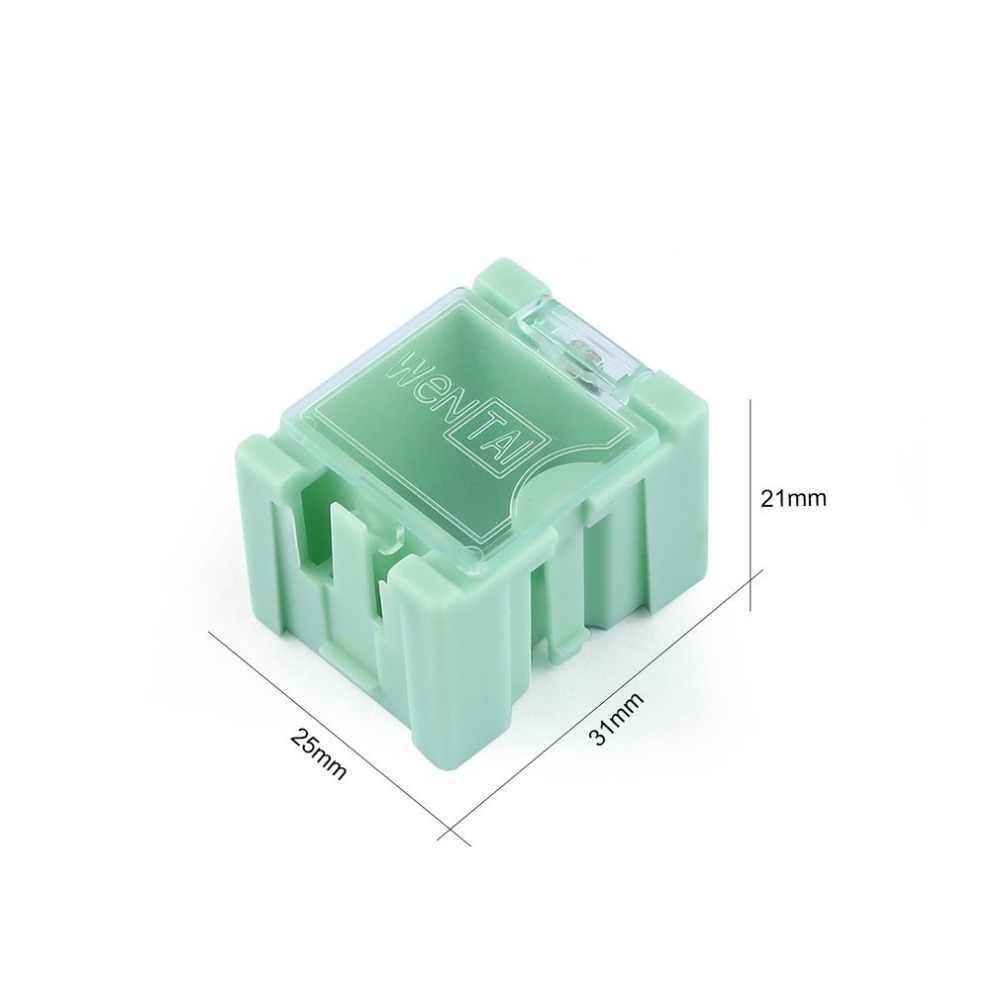 חם קטן כלי בורג אובייקט אלקטרוני רכיב חלקי אחסון תיבת מעבדה מקרה SMT SMD באופן אוטומטי יצוץ תיקון מיכל