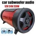 Cheap max power 50 W 4 pulgadas 3 colores para la opción del coche graves de los altavoces de audio de subwoofer túnel auto 12 V venta caliente del envío libre