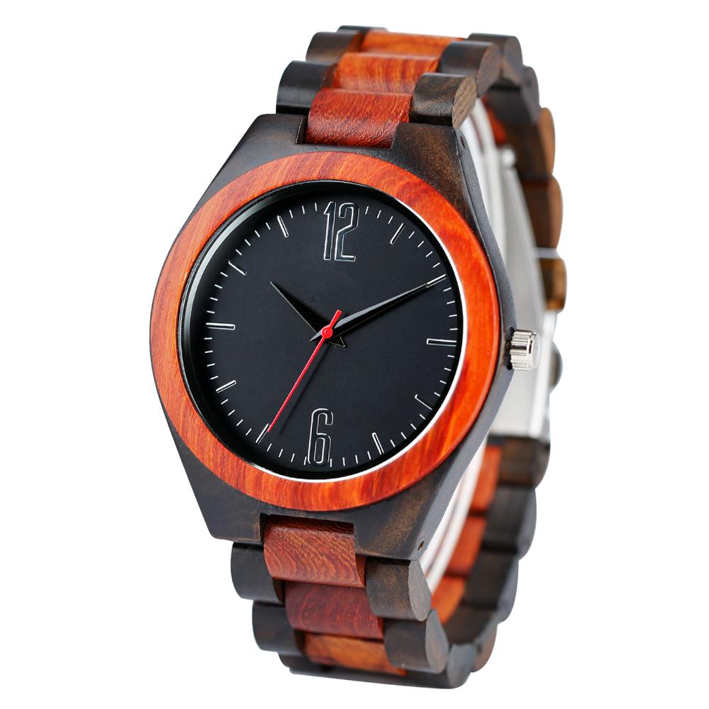 Full Wooden Watches Man Creative wristwatch  (19)