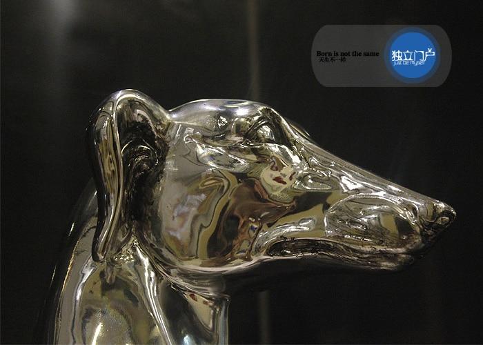 cão decoração para casa acessórios artesanato decoração escultura animal