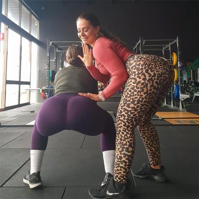 exy Leopard Women Leggins Push Up 2
