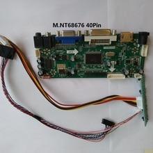 Kit for LTN141BT08-002 Monitor M.N68676 1440X900 VGA DVI Panel Screen LVDS 40pin Controller board LED DIY 14.1″ HDMI LCD