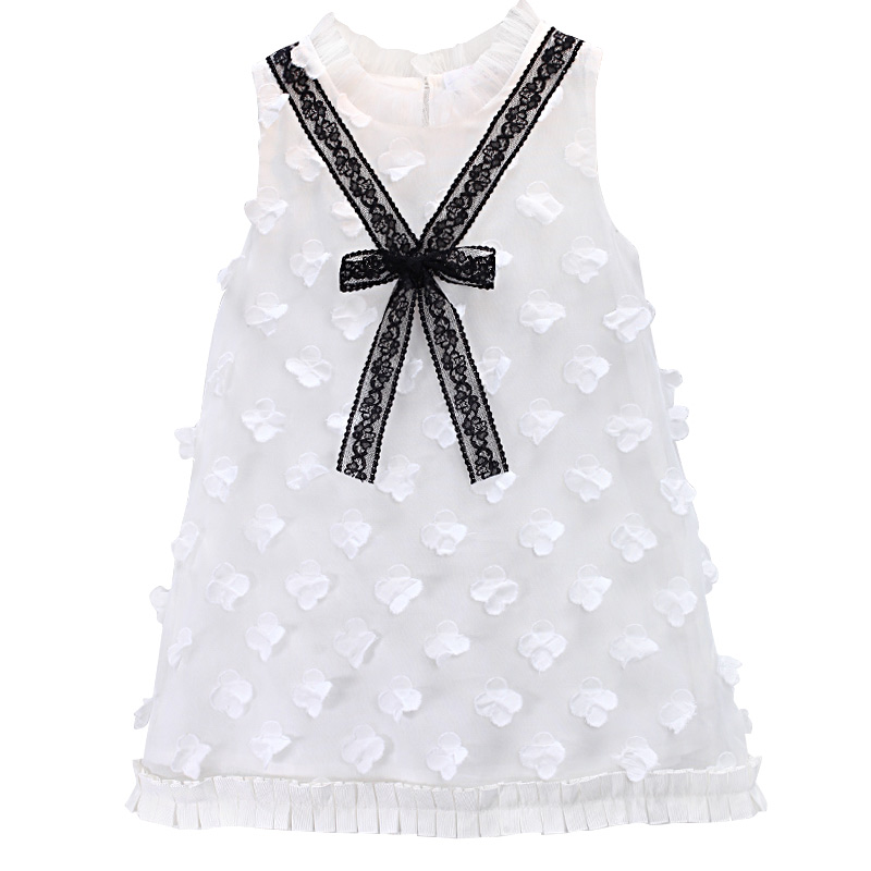 2019 white lace princess   flowers   baby   dress     Flower     Girl     Dresses   Kids Evening Gowns Wedding First Communion   Dresses