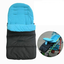 Winter Thick Warm Baby Stroller Sleeping Bag Newborn Foot Cover for Pram Wheelchair Baby Stroller Accessories Sleeping Bag(China)