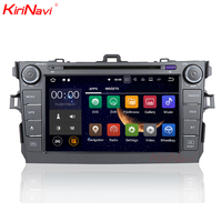 KiriNavi WC TC9006 9 inches Andriod 7.1 multimedia system for Toyota Corolla car stereo 2007 2011 touch screen with WiFi BT