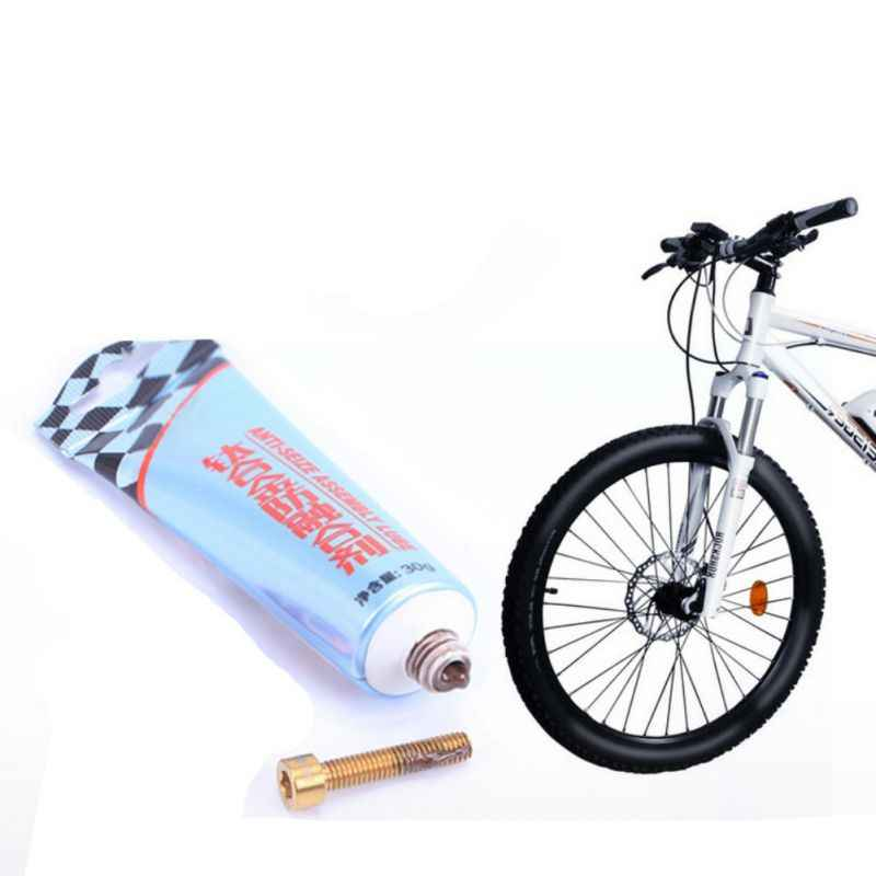 30g Mountain Bike Titanium Alloy Anti-Fusion Agent Metal Screw Anti-Caking Agent Lubricant Thermal Stability Water Repellency