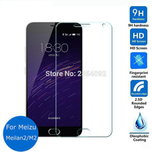 Meizu m2 mini Tempered Glass LCD Display screen Protector 2.5 9h Security Protecting Movie on Meilan M 2 M578 M578A M578U M578M