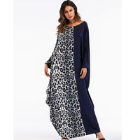2018 African dashiki dresses for women leopard print long dress rope africaine bazin riche ropa africana mujer