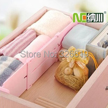Drawer partitions finishing lattice retractable wardrobe partition shelf office bookcase shelf storage box 209g