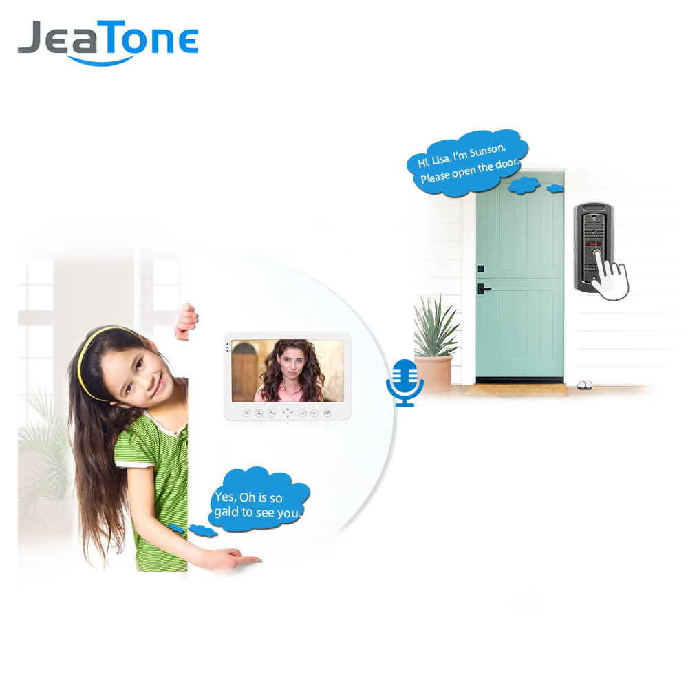 JeaTone 1200TVL Video Intercoms System 7
