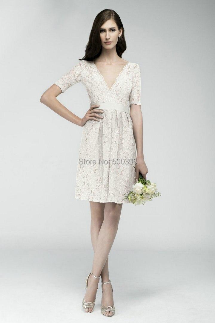 Above the Knee Wedding Dress – fashion dresses