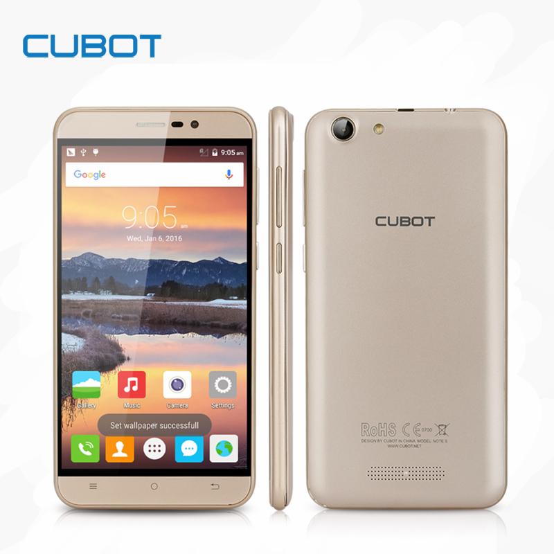 Cubot Note S 4150mAh Battery font b Smartphone b font 5 5inch HD Screen Android 5