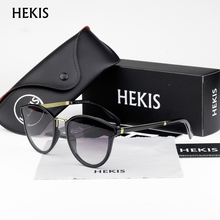 HEKIS Women Vintage Sun Glasses Ladies Retro Luxury Brand Designer For Female Photochromic D1736