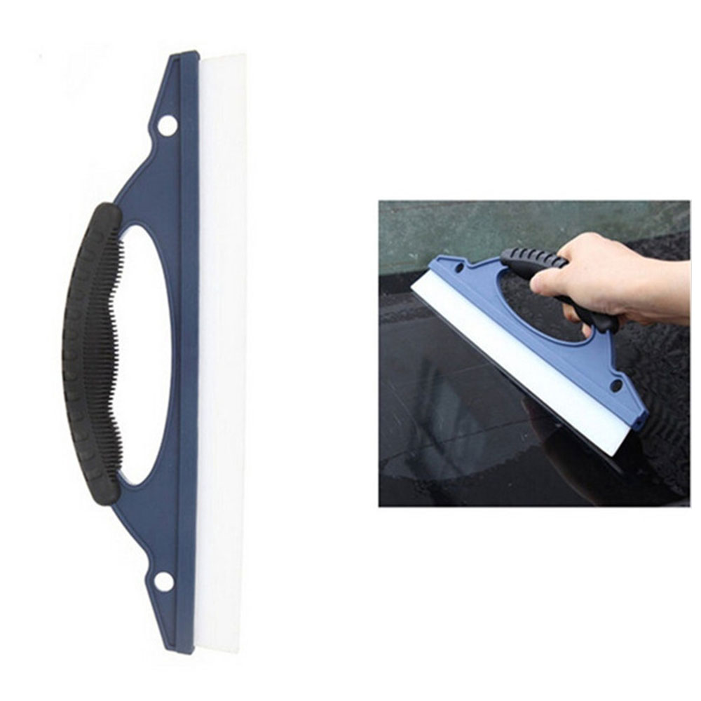 Очиститель автомобильный скребок для автомобиля Душ резиновый автомобильный скребок для ракеля портативный инструмент для ухода за мотоциклом прочный синий