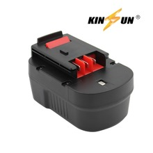KINSUN Replacement Power Tool Battery 14.4V 3.0Ah Ni-Mh for Black & Decker Cordless Drill Screwdriver A14 A144 A144EX BD146F3
