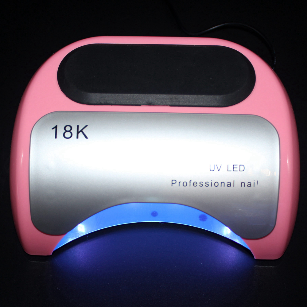 48W LED Lamp for Nail Art Salon Nail Dryer UV Lamp Gel Polish Curing Lamp for Manicure LED Nails Machine Tools 72w uv led nail lamp for nails dryer 33 pcs led beads lamp for manicure curing nail gel polish nail tools with infrared sensing