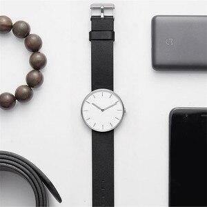 Image 5 - Youpin TwentySeventeen Reloj de pulsera de cuarzo analógico, 39mm, luminoso, resistente al agua hasta 3ATM, elegante, para hombre y mujer, banda de reloj de lujo
