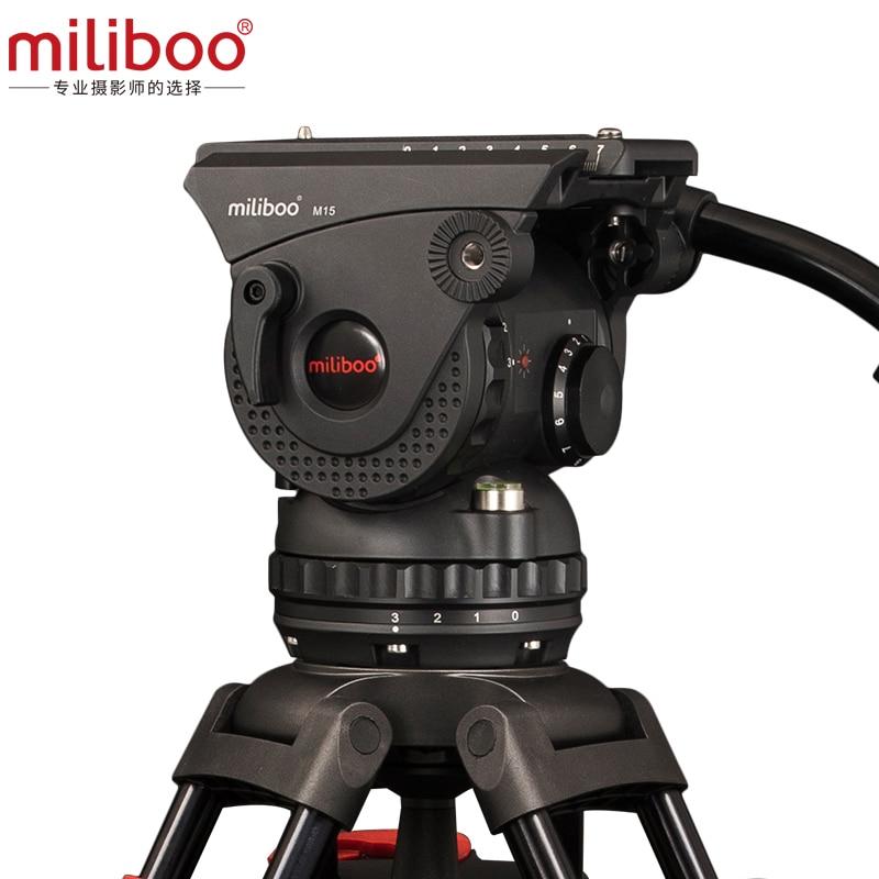 miliboo M15 Professional Yayım Filmi Tənzimlənən Hidravlik Kamera - Kamera və foto - Fotoqrafiya 4