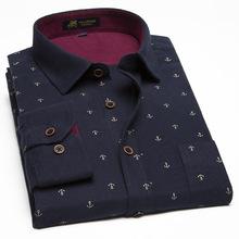 Plus rozmiar 9XL 10XL 11XL nowe modele koszul drukuj męskie fantazyjne koszule męskie Casual ubranie koszule męskie pogrubienie bawełniane koszule M463 tanie tanio Pełna M463 Men s Shirt Na co dzień Skręcić w dół kołnierz Suknem ERIDANUS COTTON Pojedyncze piersi REGULAR Red Dark blue