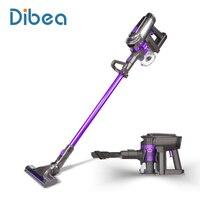 Dibea F6 2 в 1 Беспроводной пылесос Вертикальная ручка и удобный Вакуумная Чистка коврового покрытия мощный автомобиль вакуум Аккумуляторный П