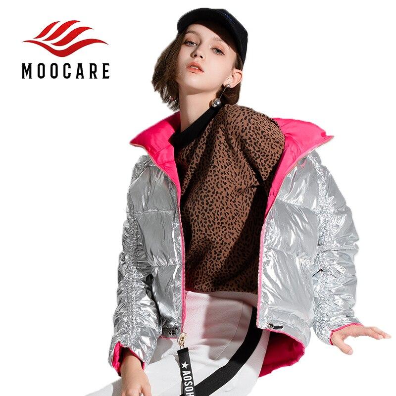 Hiver Vers Femmes Vêtements Manteau Mode Renversement 2 À D'hiver Avec Poches Veste Dame Automne Le Chaud Capuchon Bas Court Parka gSqZxwq