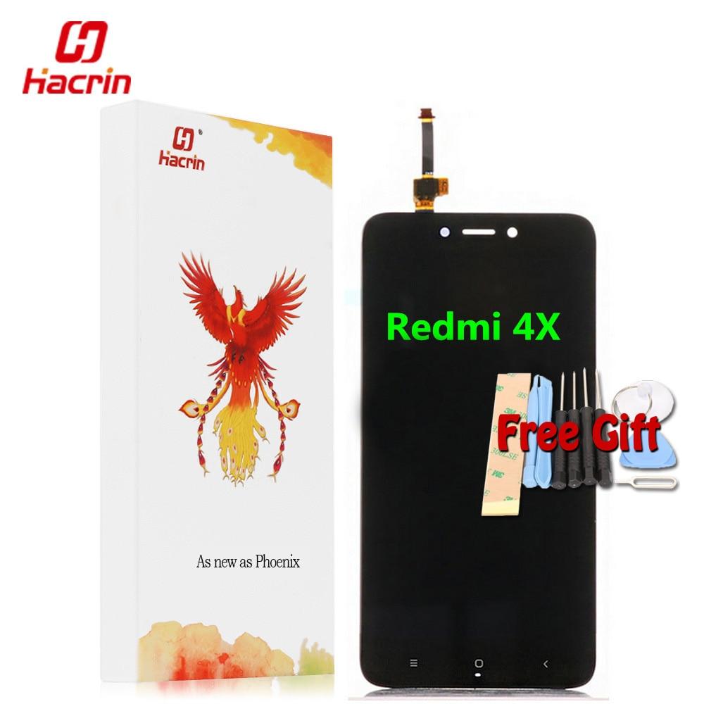 Xiaomi Redmi 4x ЖК-дисплей Дисплей Сенсорный экран Тесты хорошее замены дигитайзер Ассамблеи для Xiaomi Redmi 4x Pro Prime 5.0 дюйм(ов)