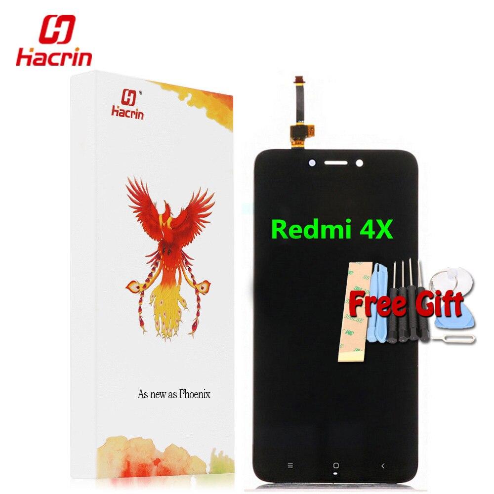 Xiaomi Redmi 4X Display LCD Touch Screen Test di Buona Sostituzione Digitizer Assembly Per Xiaomi Redmi 4X Pro Prime 5.0 pollici