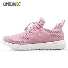 ONEMIX Women Athletic Sneakers Breathable Mesh Men Sports Shoes