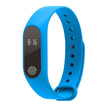 цены M2 Bluetooth 4.0 IP67 Waterproof OLED Touch Heart Rate Oxygen Sleep Monitoring Alarm Clock Remote Sports Smart Watch Bracelet
