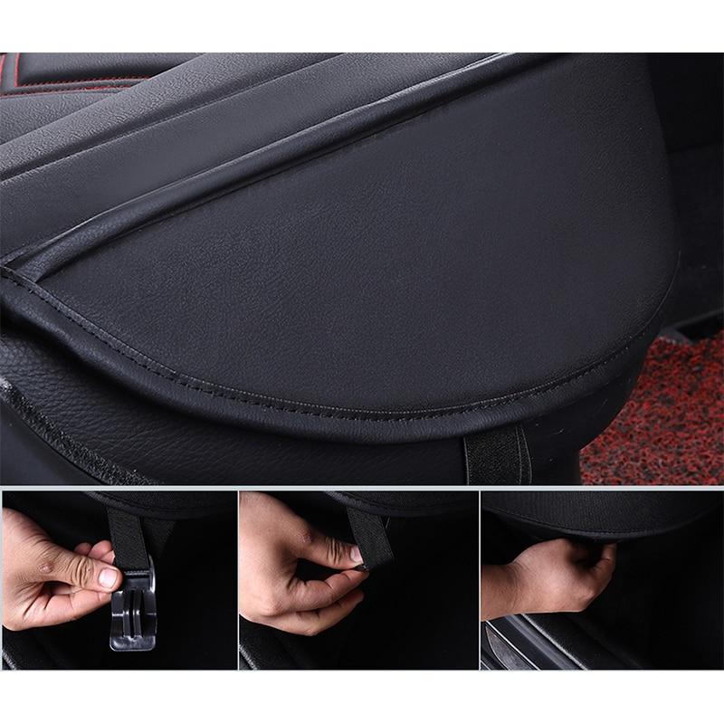 KADULEE housse de siège de voiture En Cuir pour mazda 3 bk bl Axela 323 6 gg gh gj cx-5 cx-7 626 cx3 cx-4 Automobiles Siège Couvre - 6