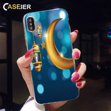 CASEIER Ramadan Pattern Case For iPhone X 7 8 6 6S Plus 5 5S SE 5C 4S Soft TPU Silicone Case For iPhone X XR XS MAX Funda цена и фото