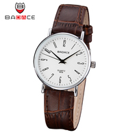 Ultra Thin BADACE Watches Men Women Couple Fashion Casual Sport Clock Classical Leather Male Quartz Wrist