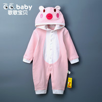 Newborn Baby Boy Rompers Long Sleeve Cotton Hooded Suits Character Infant Jumpsuit Clothes Outwear Boy Clothing