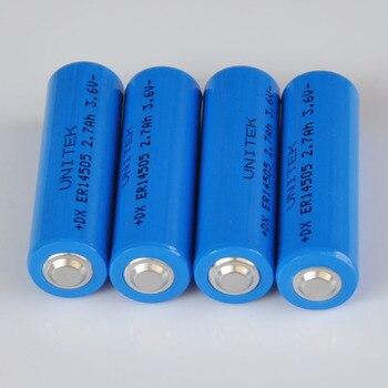 10 PACK 3.6V liSOCL2 Lithium battery AA SIZE ER14505 cell 2700mah PCL battery replace for SAFT LS14500 Tadiran TL-5903 ER6V ER6C
