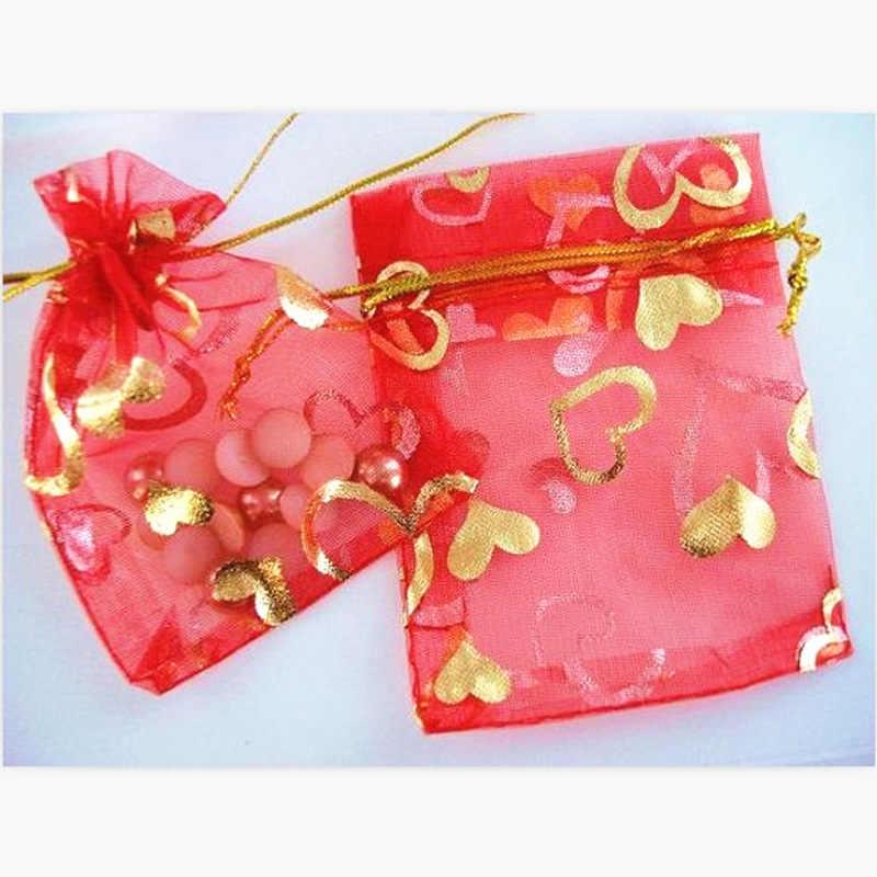 B004 Lua atacado casos Jóias & exposição dom sacos de seda saco do casamento bolsas Apropriado para todos os tipos de embalagens