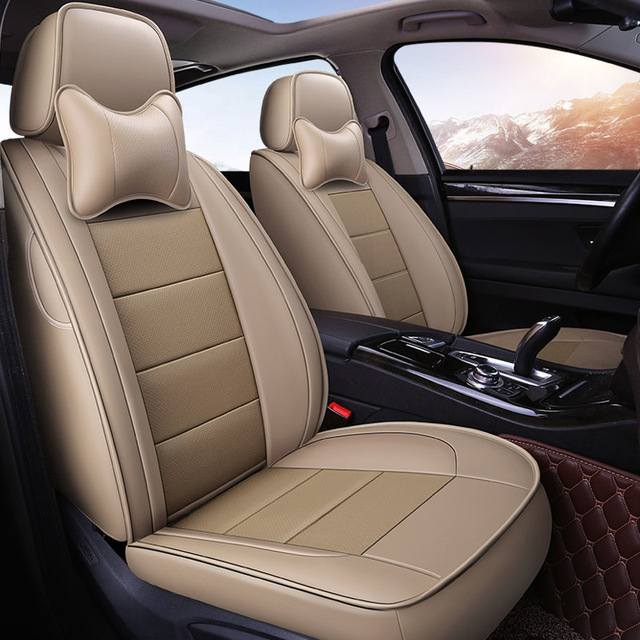 Yuzhe Auto Leather car seat covers For Jeep Grand Cherokee Wrangler patriot compass Renegade automobiles car accessories