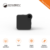 C1 + WIFI P2P мини камера HD 720P CAMSOY C1 носимая IP камера датчик движения Велосипедное тело микро DV DVR магнитный зажим диктофон