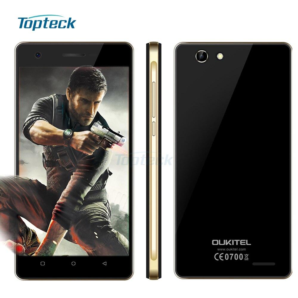 """Цена за OUKITEL C4 4 Г FDD LTE 5.0 """"HD 1280*720 Смартфон Android 6.0 MTK6737 Quad Core 64 бит 1.3 ГГц Мобильного Телефона 1 ГБ + 8 ГБ 8MP мобильный Телефон"""