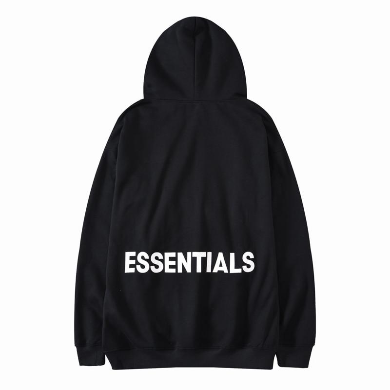 New 2019 Men Gentleman Classic Essentials FOG Kenye Hoodies Hoody Hooded Sweatshirts Velvet Cotton Drake Thicken Fleece #AB47