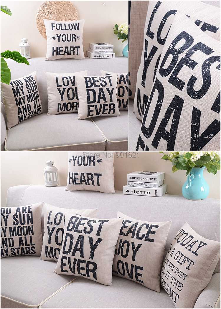 free shipping elegant peace joy love today is a gift best day ever follow your heart
